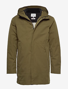 Damien 3-1 Coat - DARK OLIVE GREEN