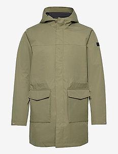 Damien Summer Parka Coat - manteaux legères - lichen green