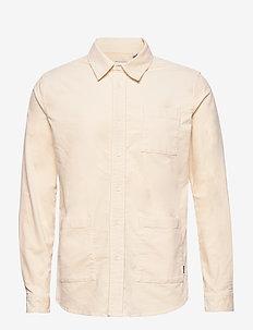 Jules Corduroy Hybrid - basic-hemden - off white