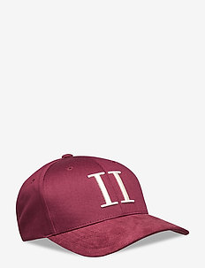 Baseball Cap Suede II - lippalakit - burgundy/off white