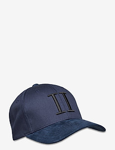 Baseball Cap Suede II - caps - dark navy/black