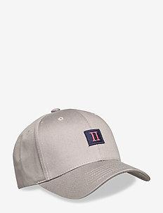 Piece Baseball Cap - czapki - grey/dark navy-dark papaya