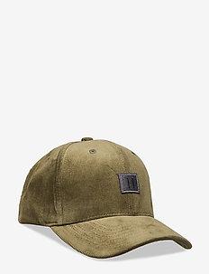 Piece Corduroy Baseball Cap - 5858-DARK OLIVE GREEN