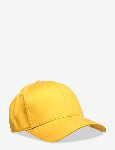 Laurent Tencel Baseball Cap - GOLDEN SPICE YELLOW