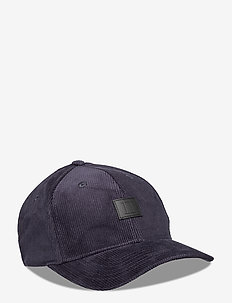 Piece Corduroy Baseball Cap - kepsar - dark navy/black