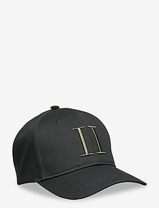 Encore Organic Baseball Cap - petten - black/lichen green