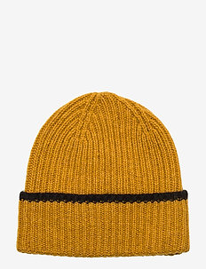 Rieba Beanie - YELLOW SUNFLOWER