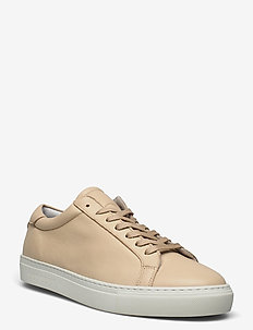 Calle Shoe - lave sneakers - light brown incense/white