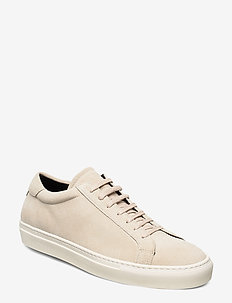 Calle Suede Shoe - laag sneakers - ivory