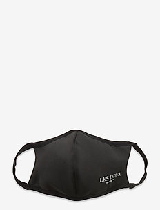 Les Deux Face mask - gezicht maskers - black/white
