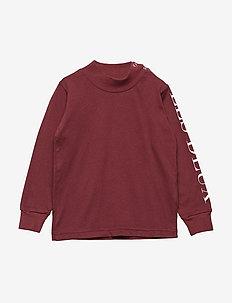 Friends T-shirt LS Kids - BURGUNDY
