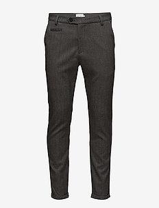Malus Suit Pants - suit trousers - grey melange