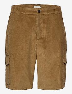UPC Corduroy Cargo Shorts - cargo shorts - cub brown