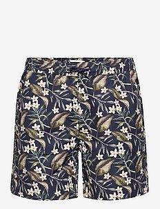 Latif Swimshorts - swim shorts - dark navy