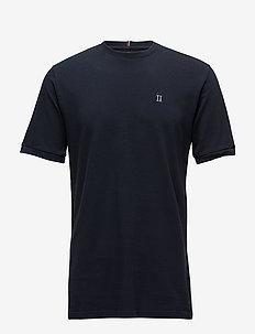 Piqué T-Shirt - korte mouwen - dark navy