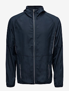 Run Jacket Men - training jackets - black iris