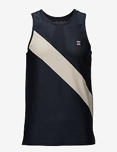 Stockholm Singlet - logo t-shirts - midnight navy