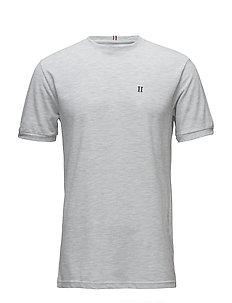 Piqué T-Shirt - SNOW MELANGE