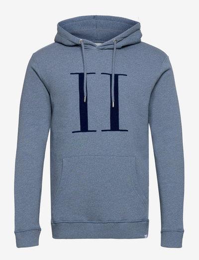 Encore Hoodie SMU - sweats à capuche - china blue/dark navy