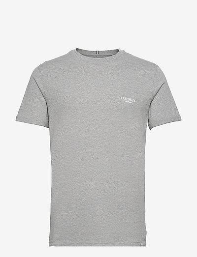 Toulon T-Shirt SMU - t-shirts basiques - light grey melange/white