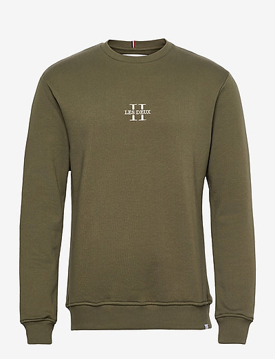 Les Deux II Sweatshirt SMU - sweats - olive night/gold