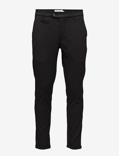 Como Suit Pants - pantalons habillés - black