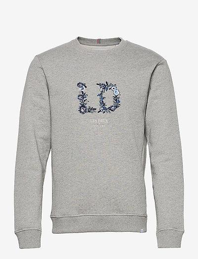 Fiori Sweatshirt - sweats - light grey melange/multicolor