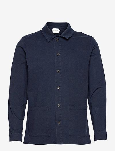 Pascal Overshirt - kleding - dark navy