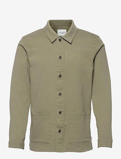 Pascal Overshirt - odzież - lichen green
