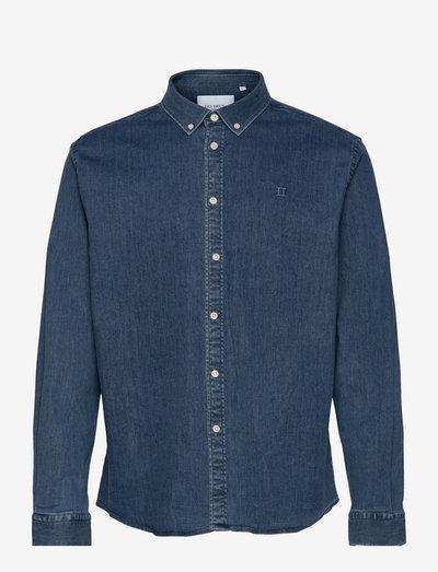 Bill Denim Shirt - basic-hemden - light denim blue