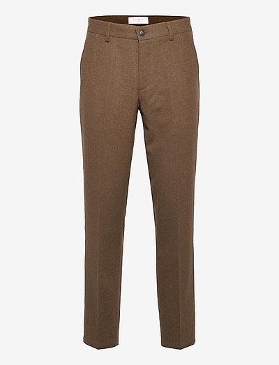 Como Reg Wool Pants - od garnituru - mountain grey