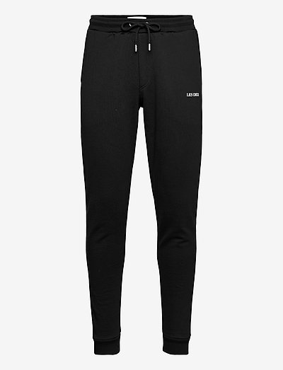 Lens Sweatpants - spodnie dresowe - black/white