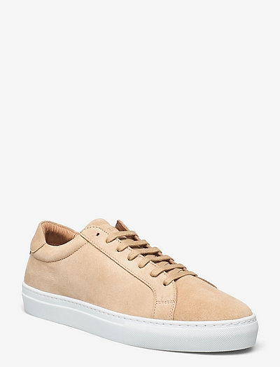 Theo Suede Shoe - baskets basses - beige/white