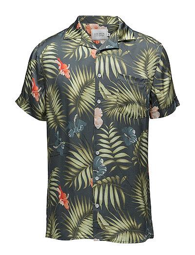 Mahalo Shirt - FLORAL NAVY