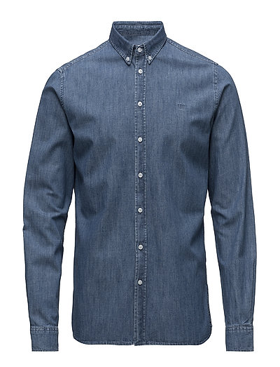 Vagrant Chambray Shirt - DARK BLUE