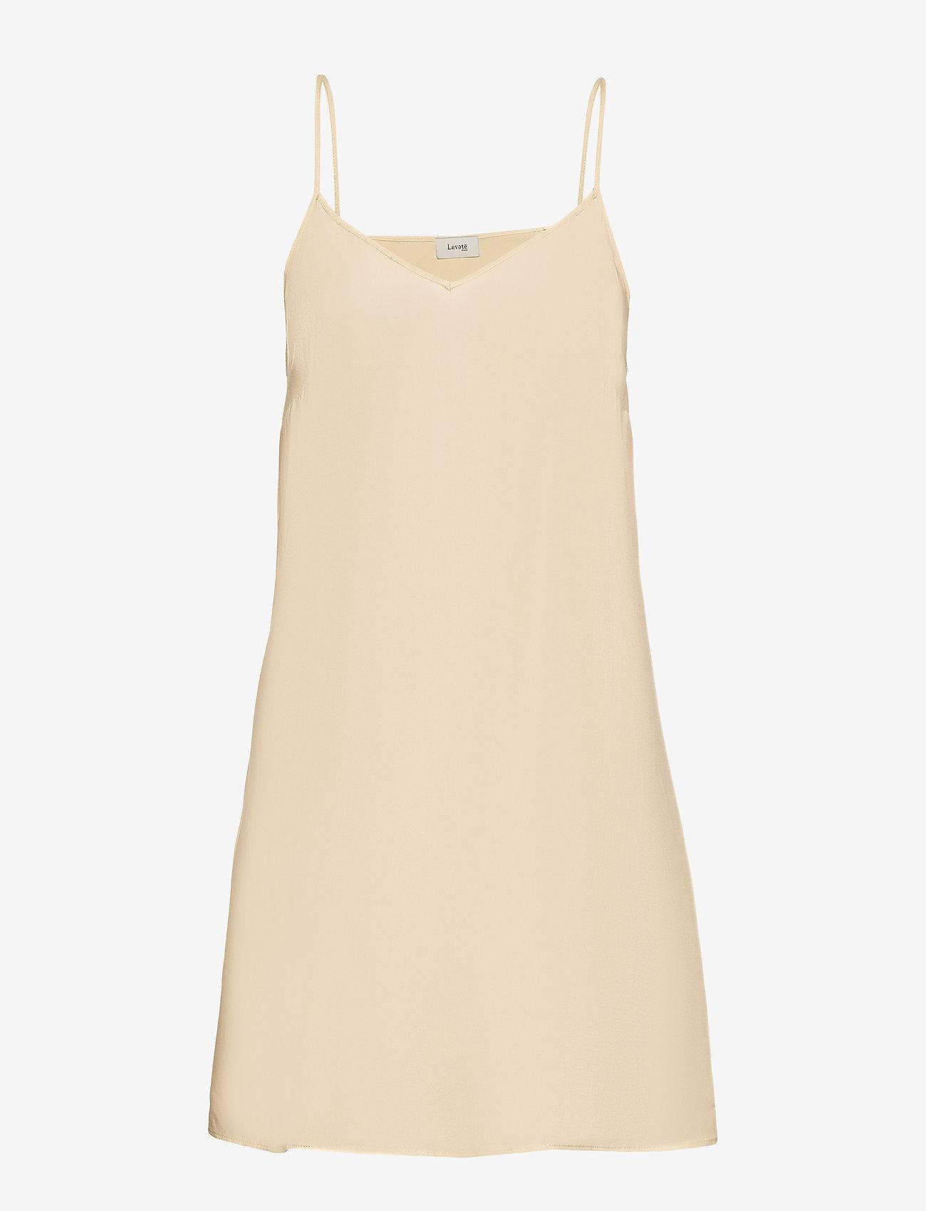Levete Room LR-IMOLA - Sukienki L304C - HONEY PEACH COMBI - Kobiety Odzież.