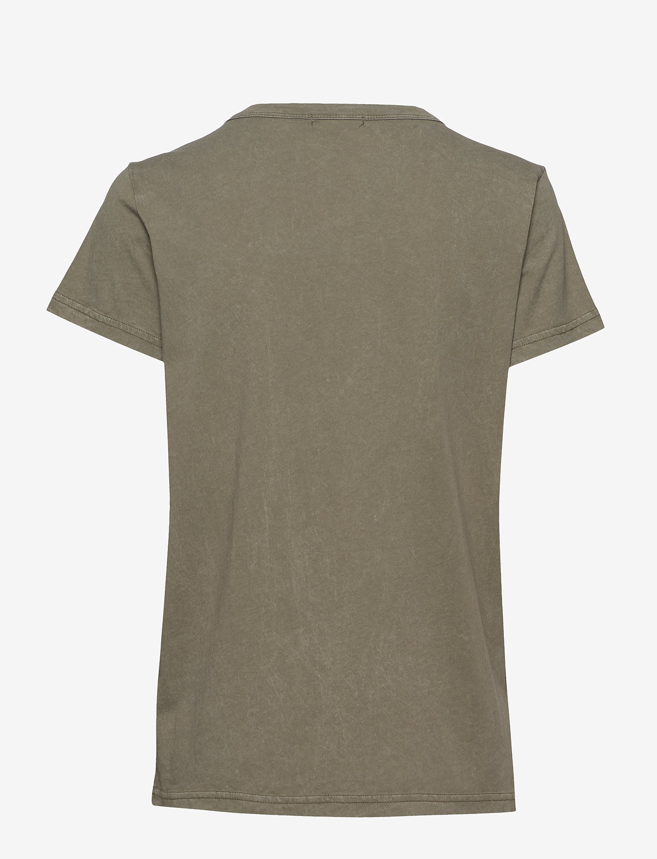 Levete Room LR-CAMRY - T-shirts & Tops L704 - DUSTY OLIVE