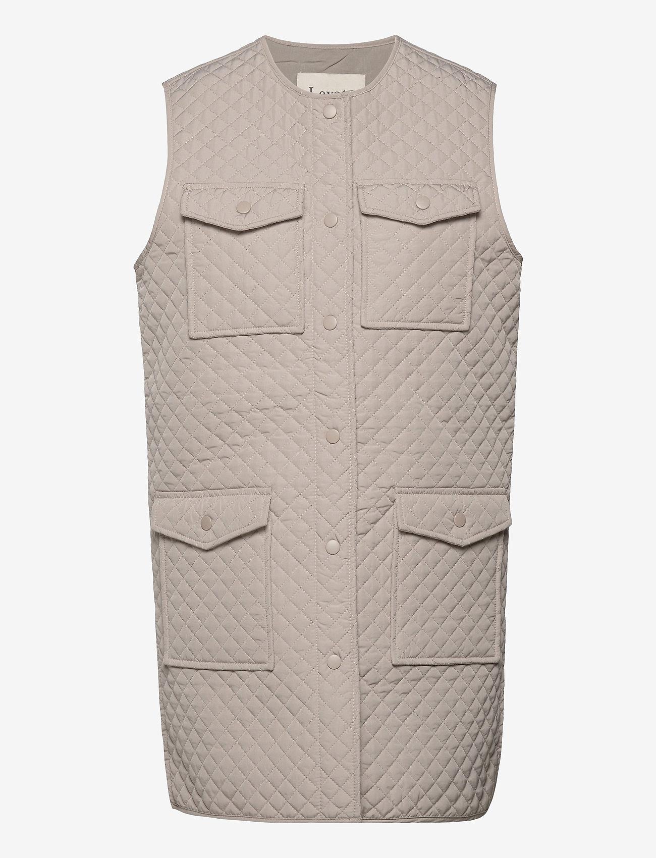 Levete Room - LR-MAGNOLIA - puffer vests - l901 - chateau gray - 0