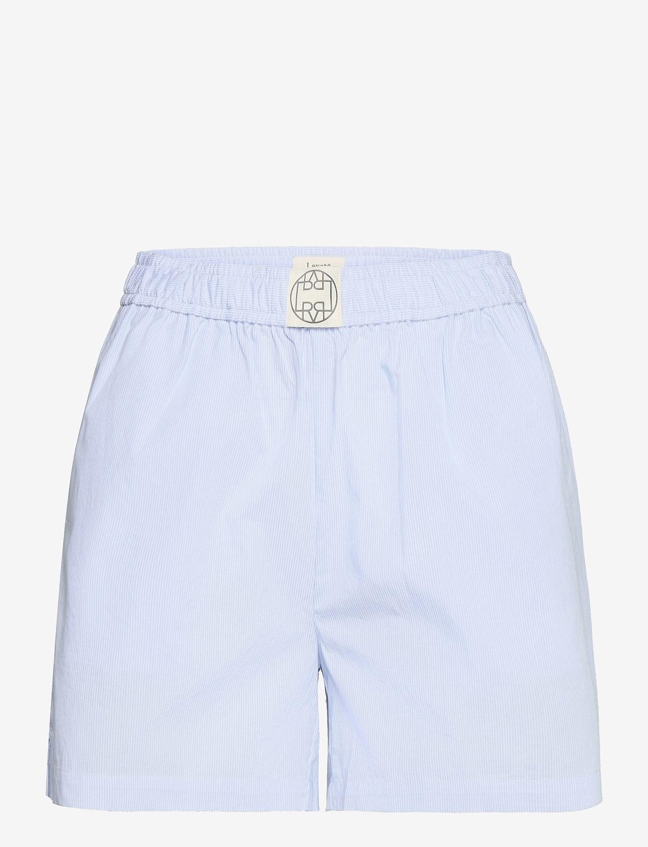 Levete Room - LR-NANNA - shorts casual - l233c - celestial blue combi - 0