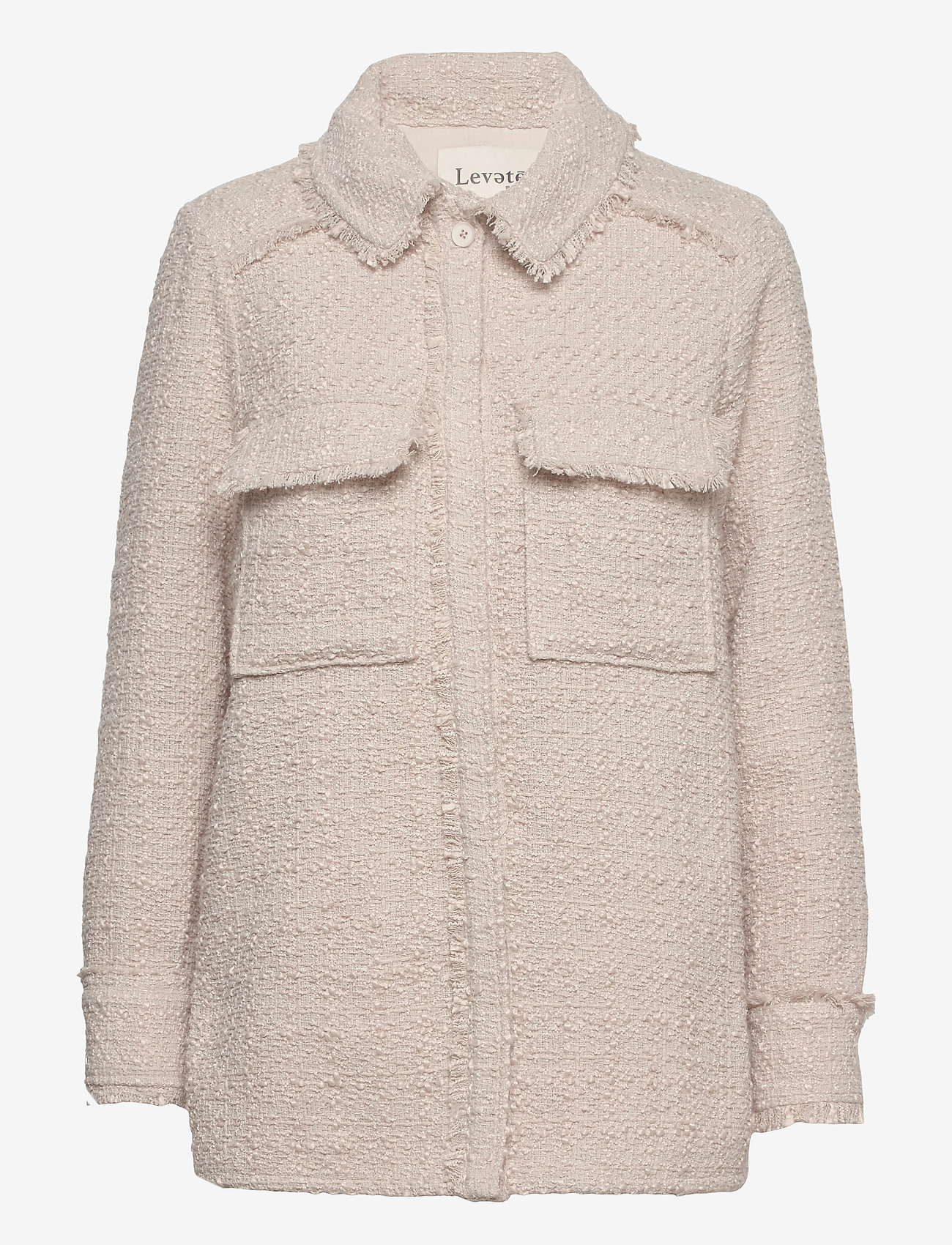 Levete Room - LR-GELLY - wool jackets - l901 - chateau gray - 0