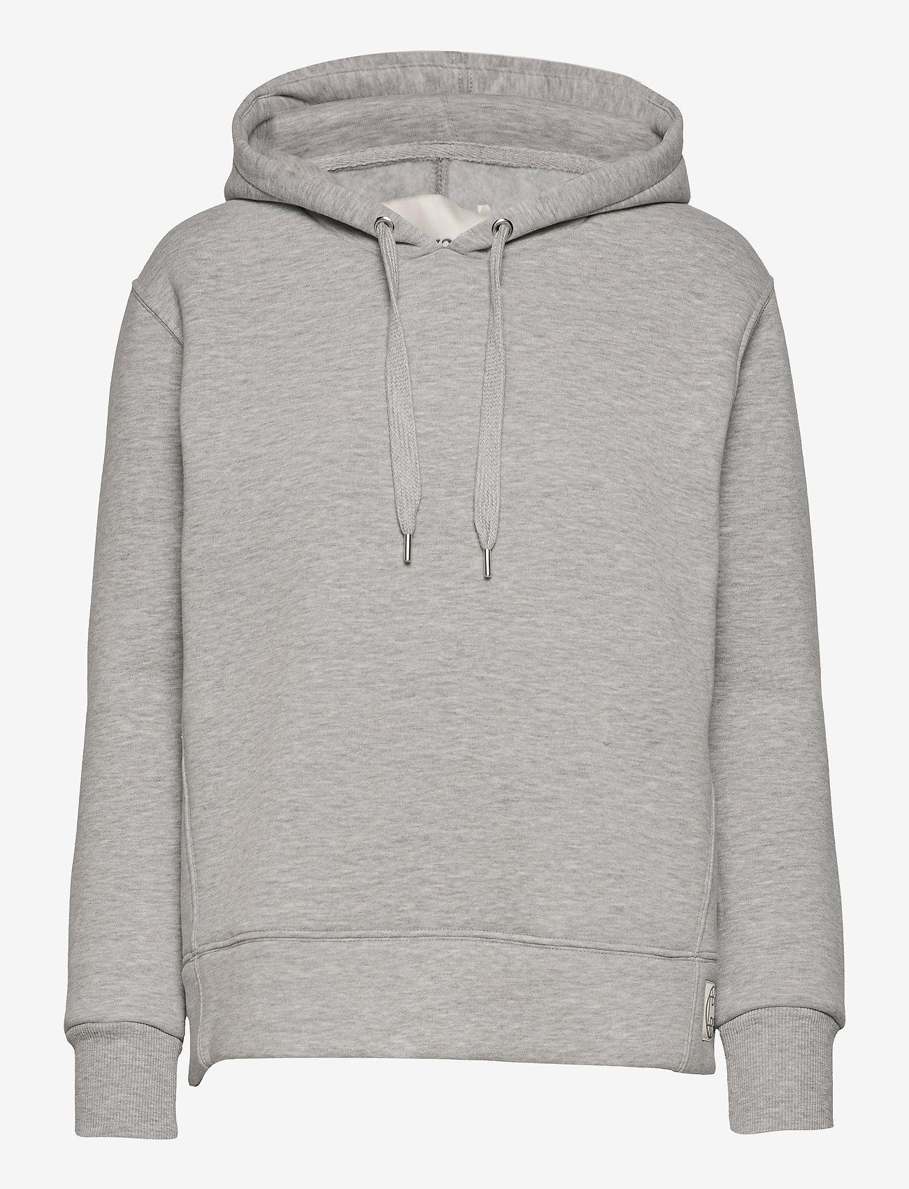 Levete Room - LR-NUKA - sweatshirts & hættetrøjer - l9950 - light grey melange - 0