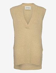 Levete Room - LR-CILLE - knitted vests - l311 - boulder - 0
