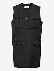Levete Room - LR-MAGNOLIA - puffer vests - l999 - black - 0