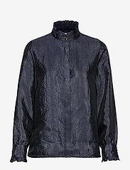 Levete Room - LR-HERLE - långärmade skjortor - l210 - dress blues - 0
