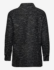 Levete Room - LR-KAMILLE - overshirts - l999c - black combi - 1