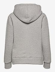 Levete Room - LR-NUKA - sweatshirts & hættetrøjer - l9950 - light grey melange - 1
