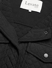 Levete Room - LR-MAGNOLIA - puffer vests - l999 - black - 2