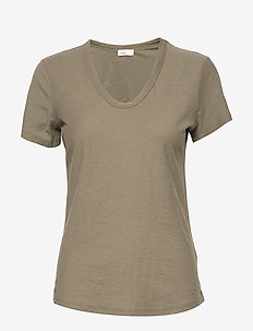 LR-ANY - t-shirts - l704 - dusty olive