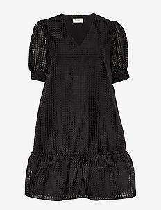 LR-IBEN - krótkie sukienki - l999c - black combi