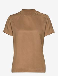 LR-ISADORA - t-shirts - l120 - caramel nut
